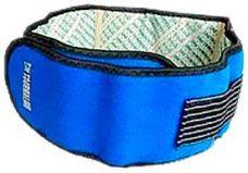 Турмалиновый пояс для спины (Синий)